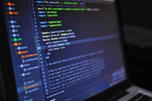 Web development coding language