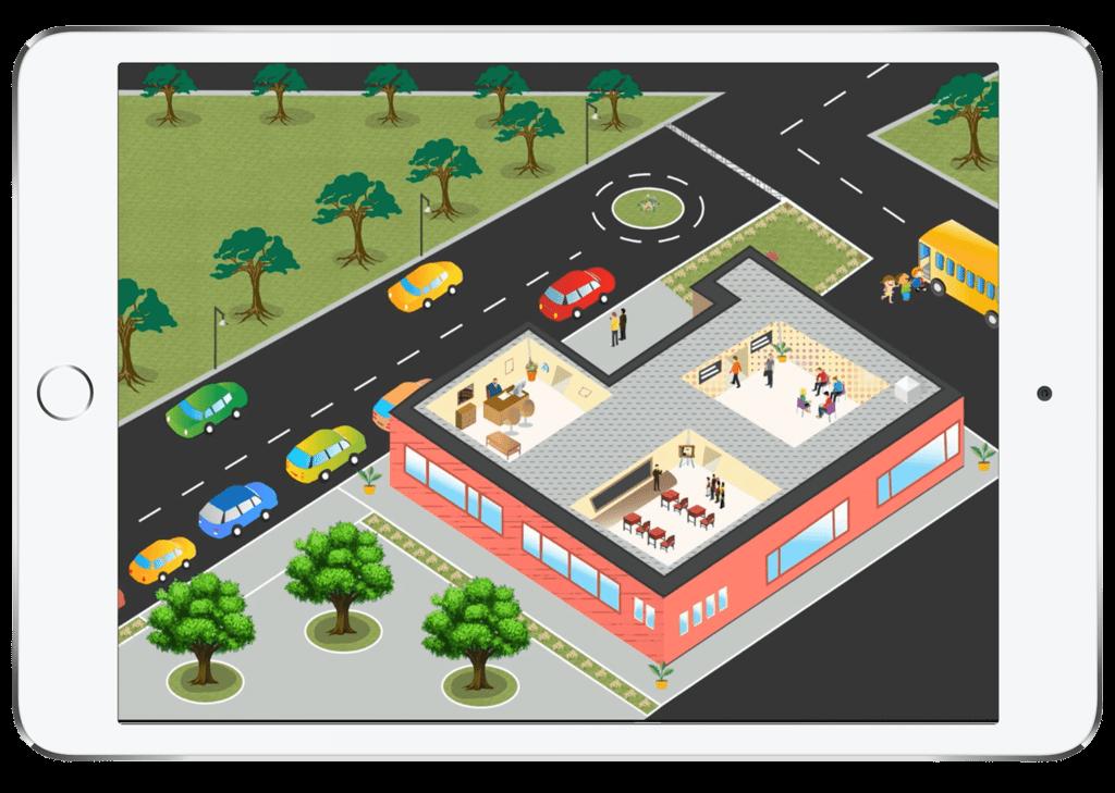 ipad-view-traffic-driveway