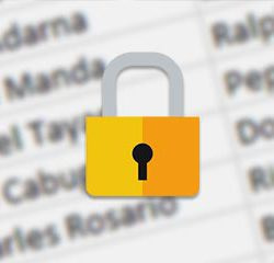 security lock for school dismissal data safety